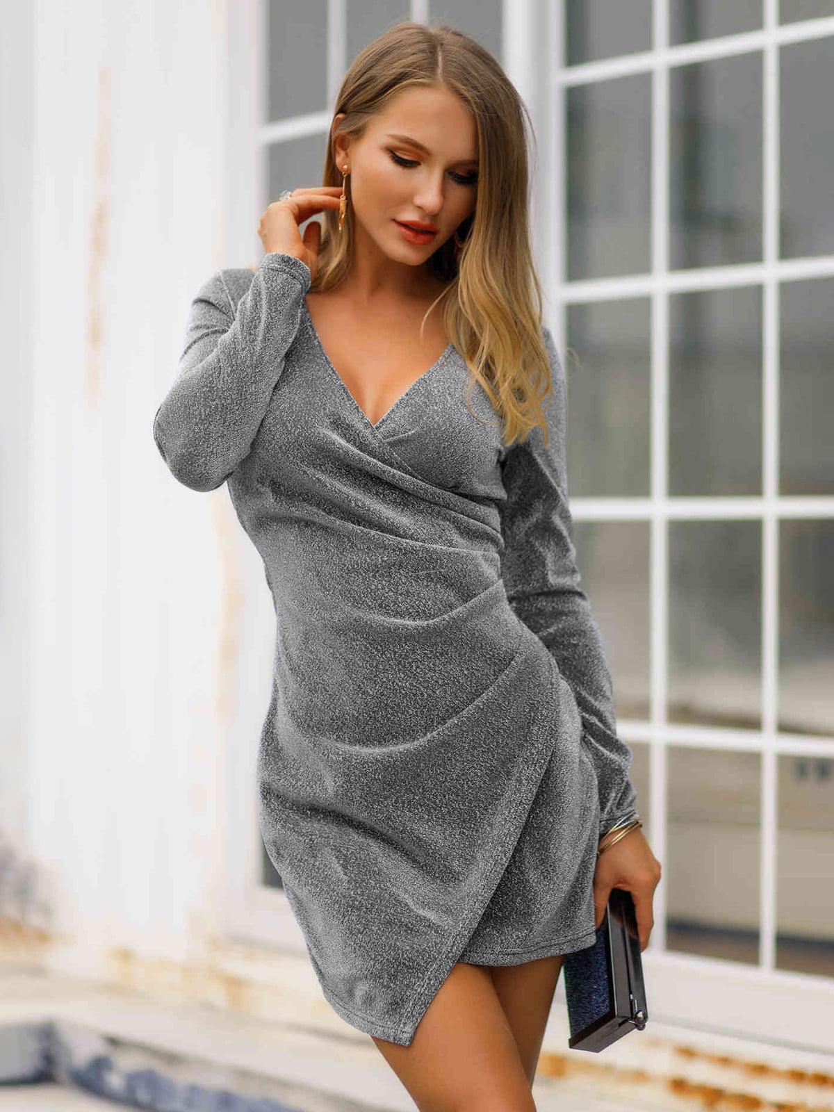 Сукня сіра | 5261469