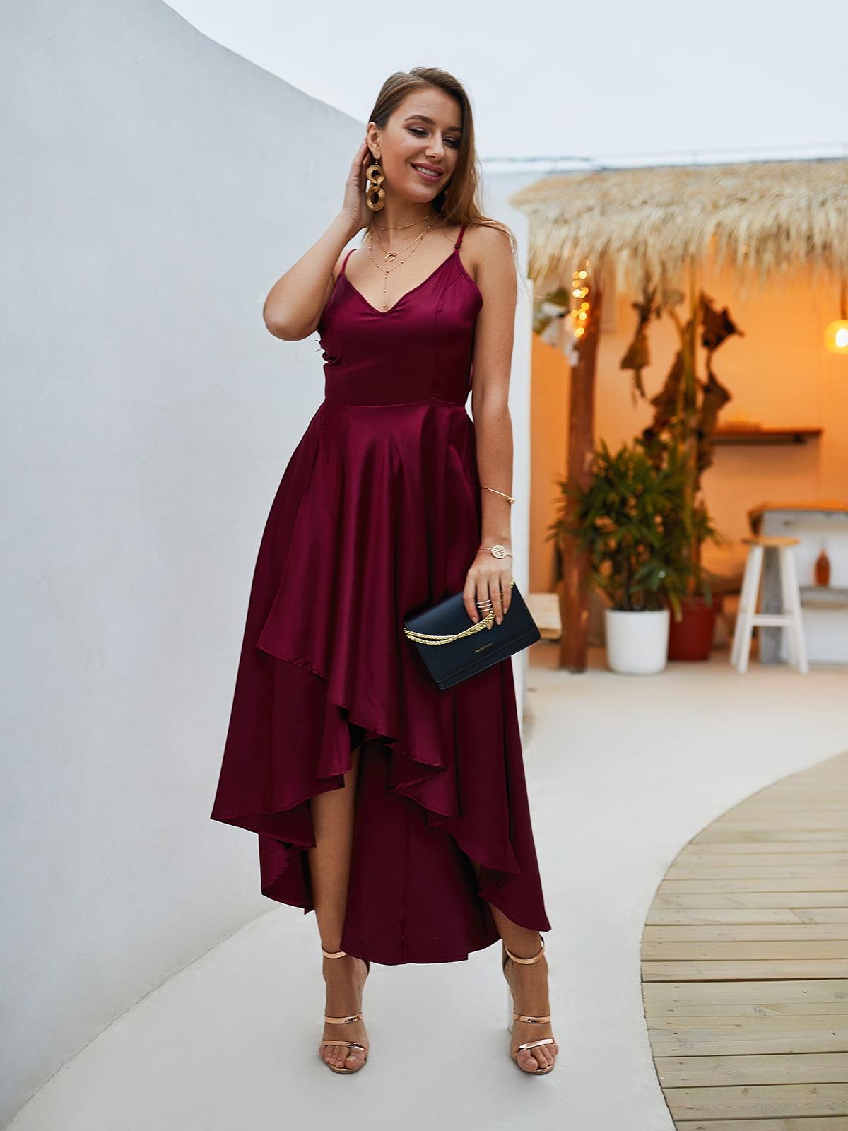 Сукня бордова | 5261474