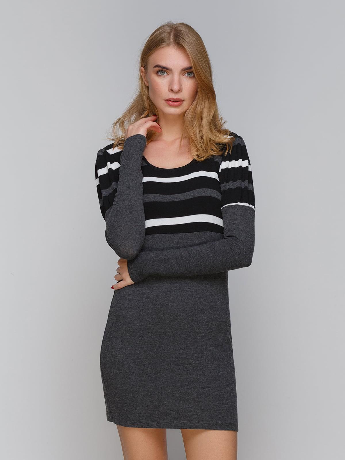Платье серое | 5266085