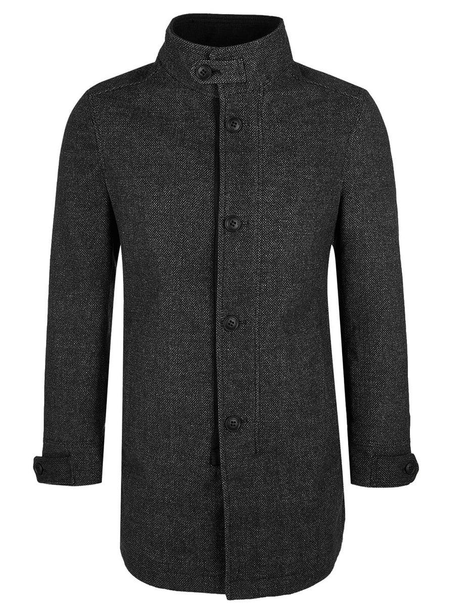 Пальто темно-сіре | 5271897