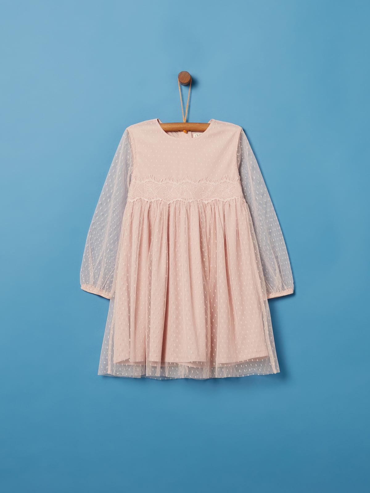 Платье розовое | 5265213