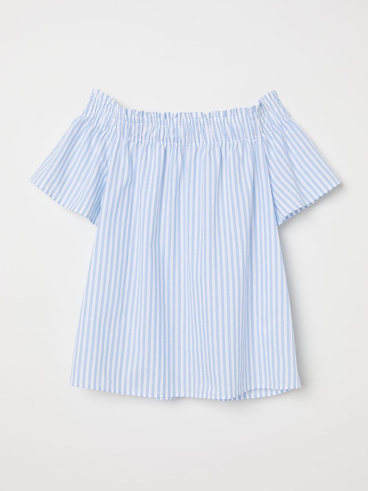 Блуза блакитна | 5272141