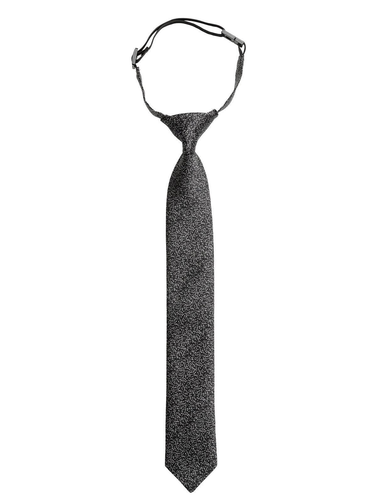 Краватка чорна в принт   5272696
