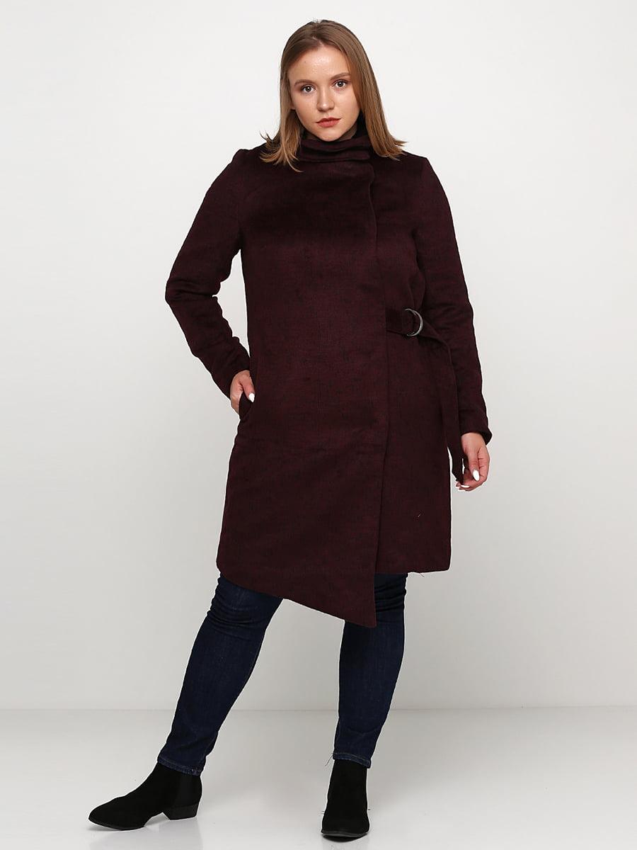 Пальто бордове | 5272907