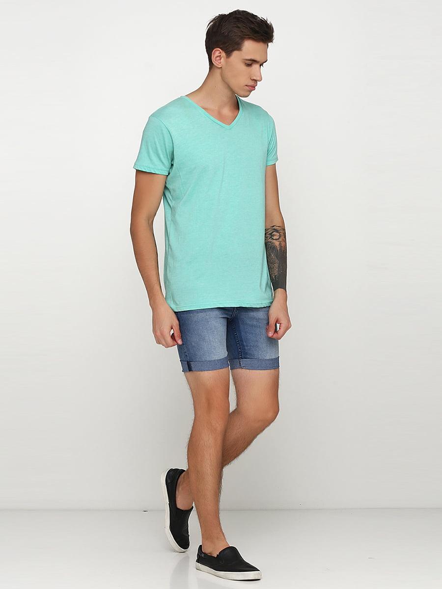 Шорти сині джинсові | 5273501