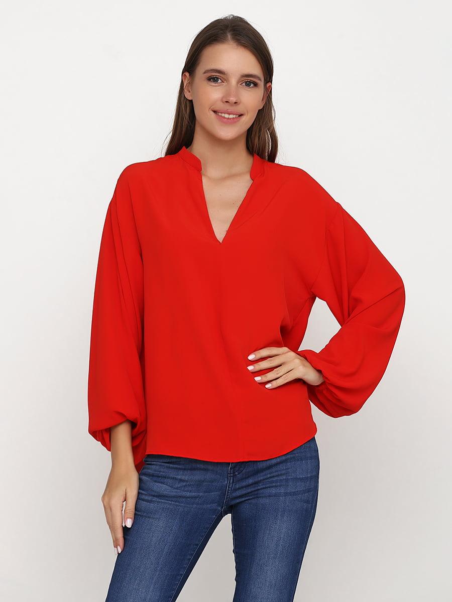 Блуза червона | 5273576