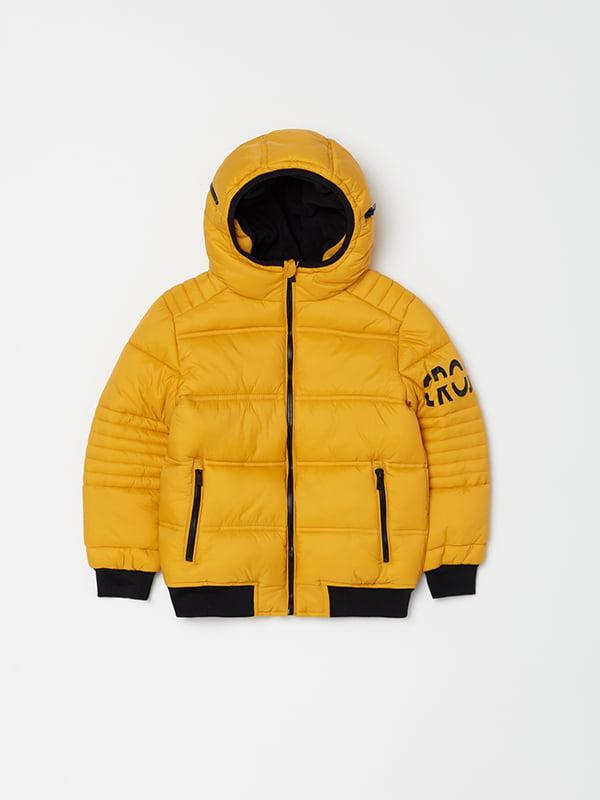 Куртка жовта | 5265098