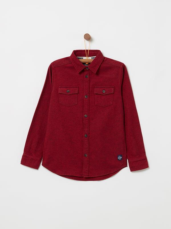 Рубашка красная   5265105