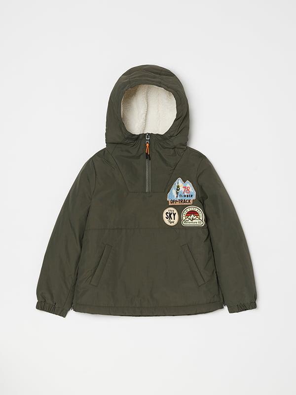 Куртка кольору хакі | 5271626