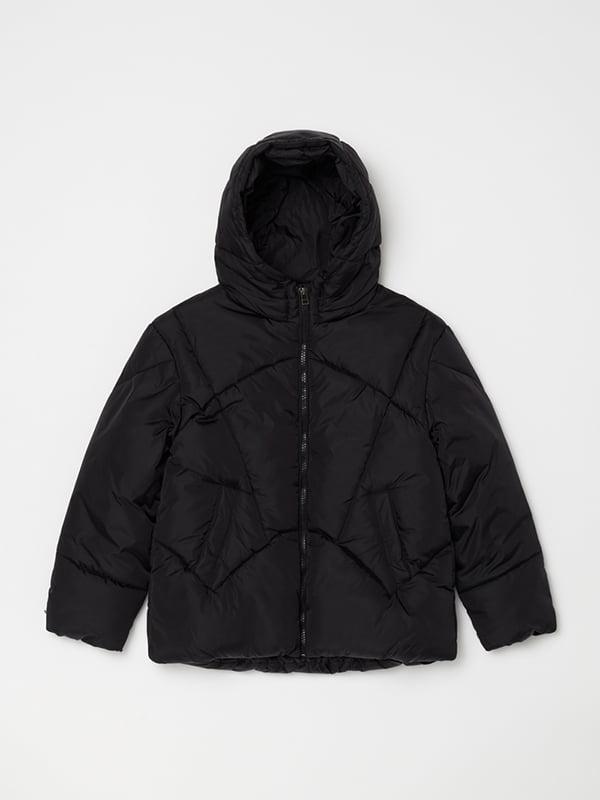 Куртка чорна | 5271634