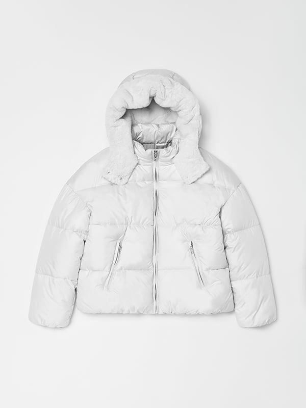 Куртка біла | 5271699