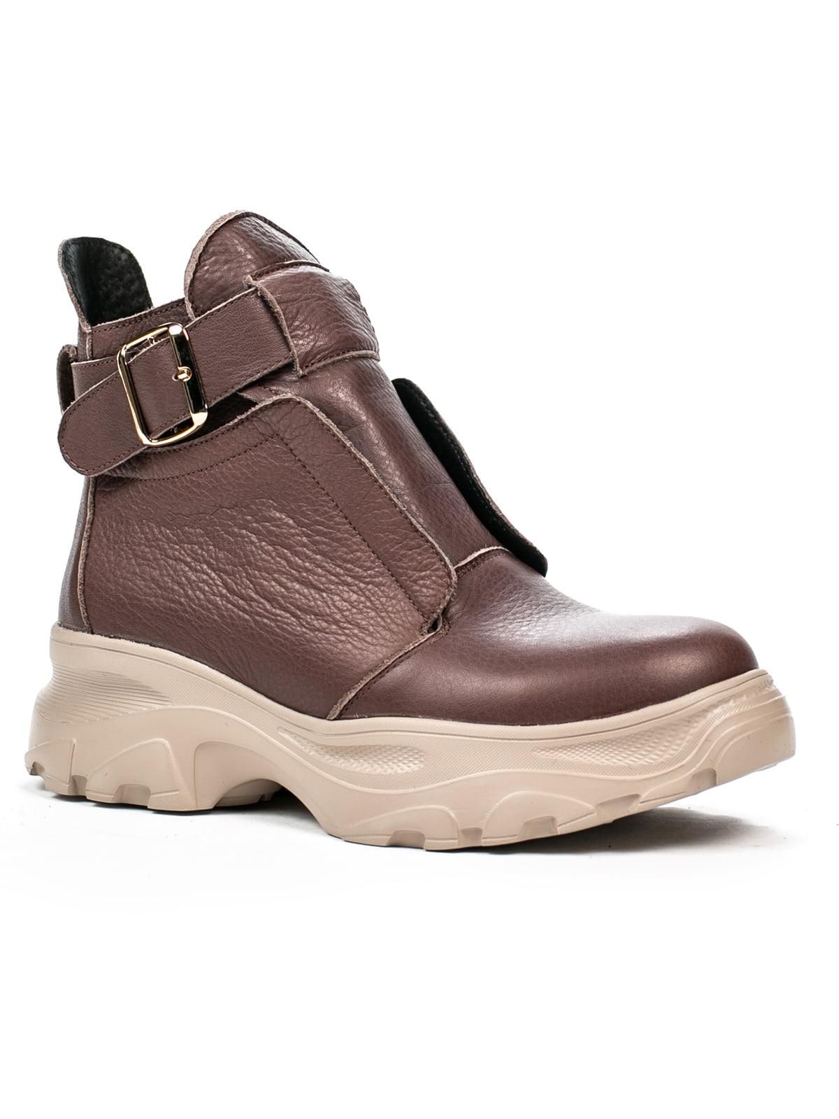 Ботинки коричневые | 5274744