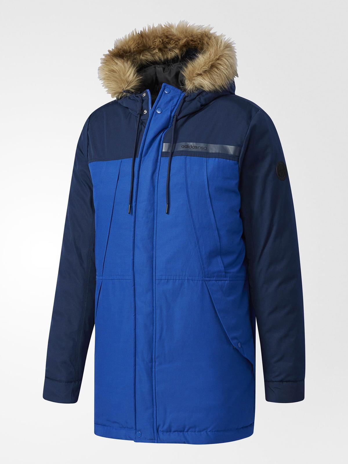 Куртка синьо-чорна | 5261695