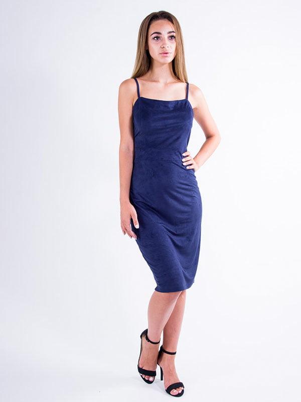 Платье синее   5276038