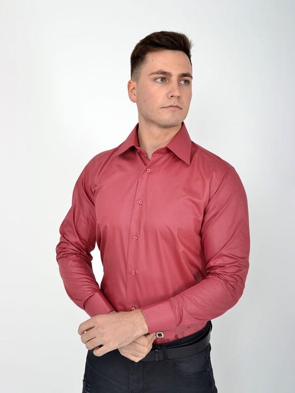 Рубашка темно-розовая | 5276216