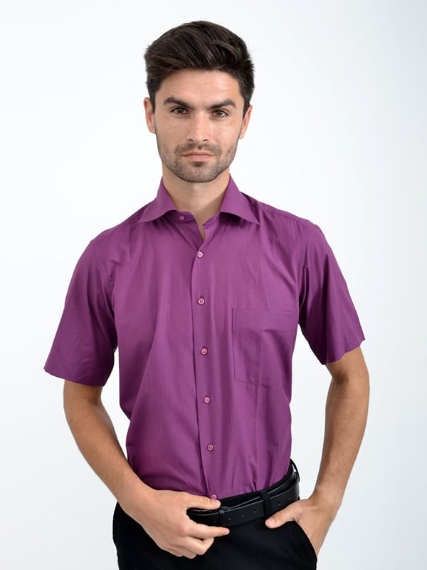 Рубашка сиреневая   5276230