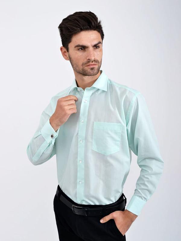 Рубашка цвета мяты   5276281