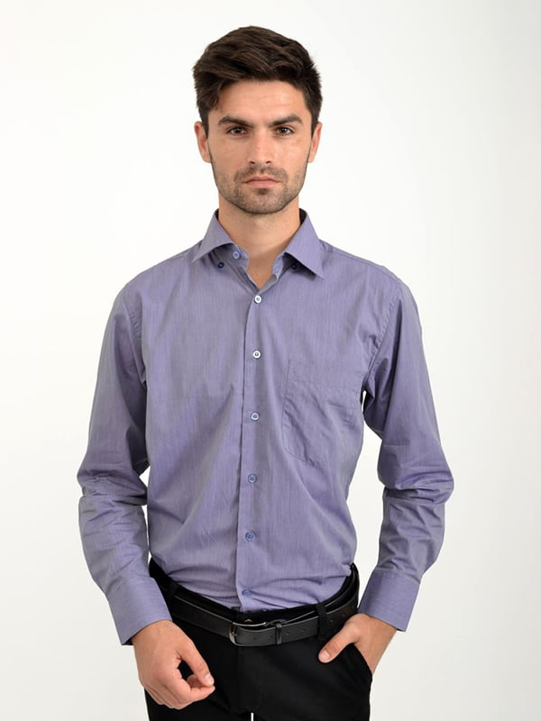Рубашка сиреневая | 5276379