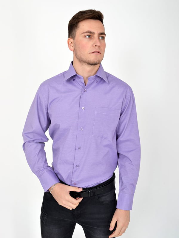 Рубашка сиреневая | 5276384