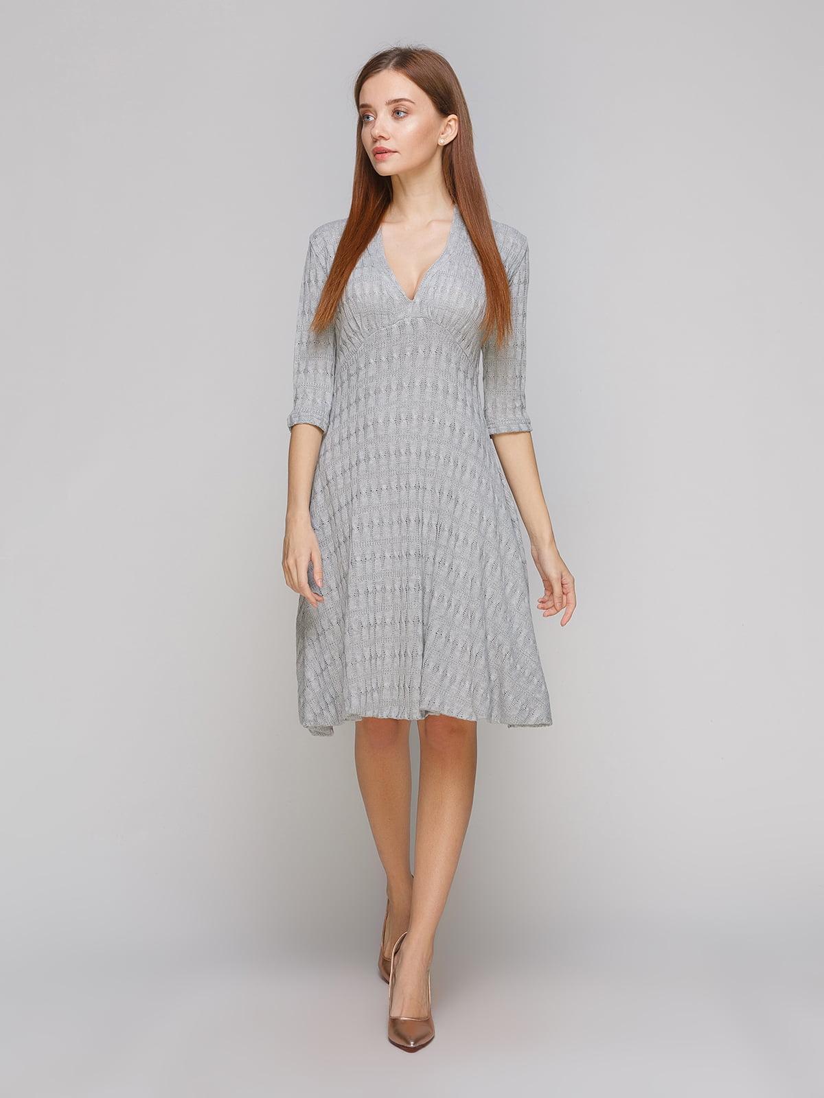 Сукня світло-сіра | 5265812