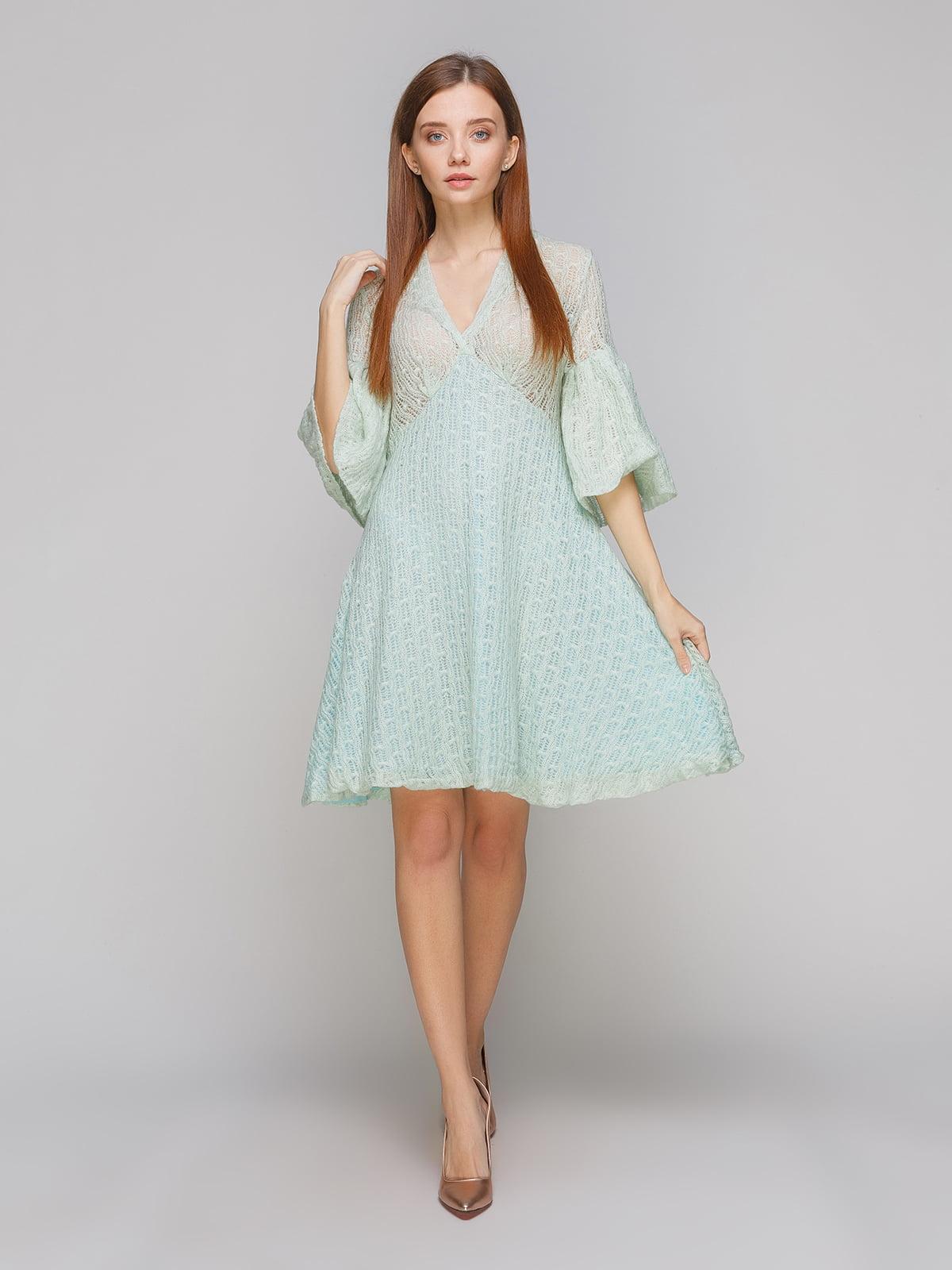 Платье бирюзовое | 5265798