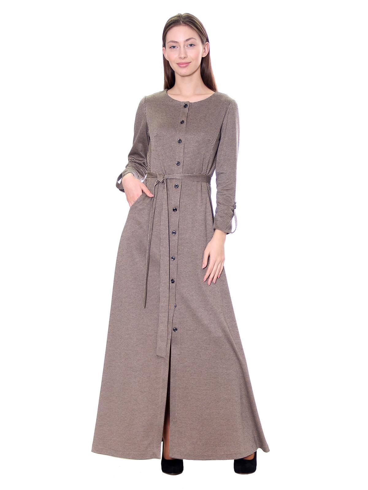 Платье бежевое | 5281535