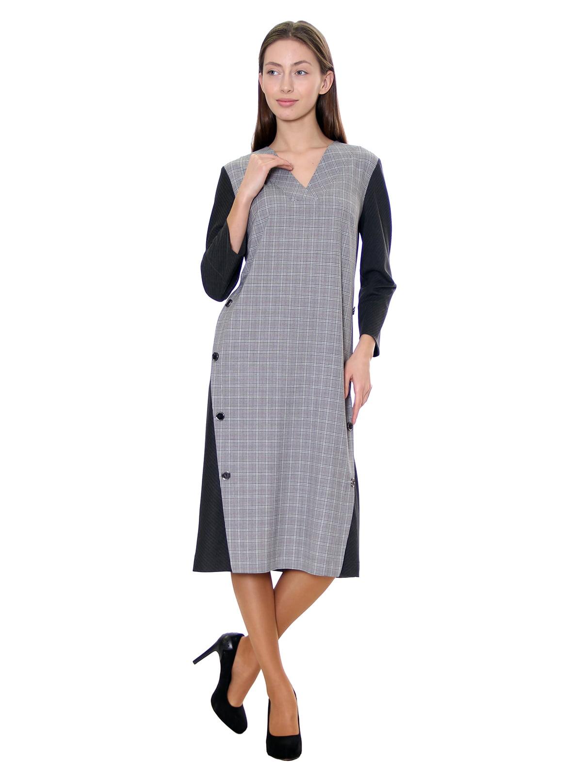 Платье серое | 5281538