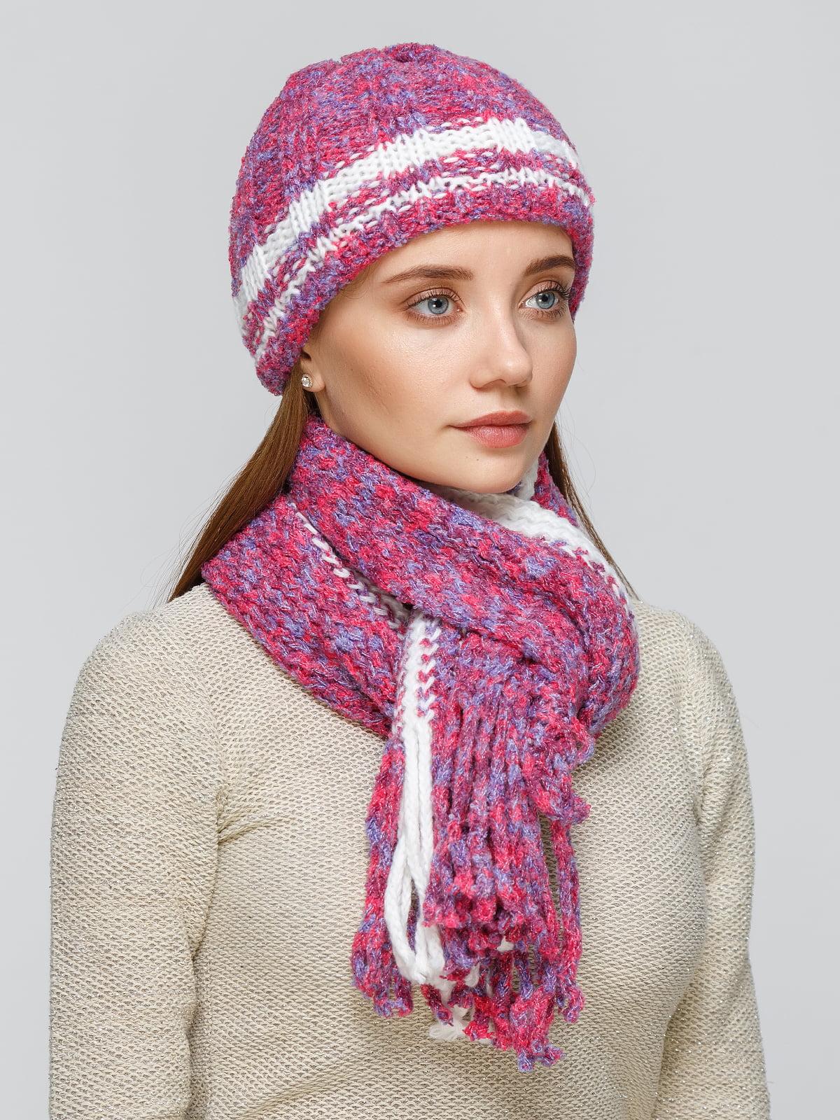 Комплект: шапка та шарф   5259041