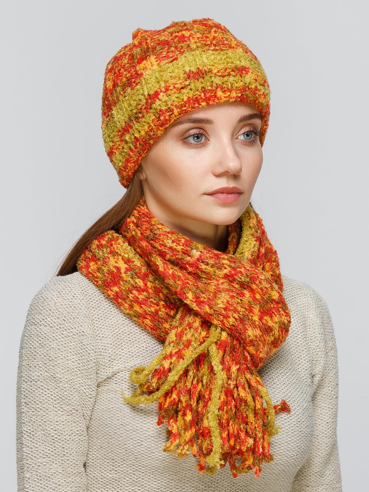 Комплект: шапка та шарф | 5259042
