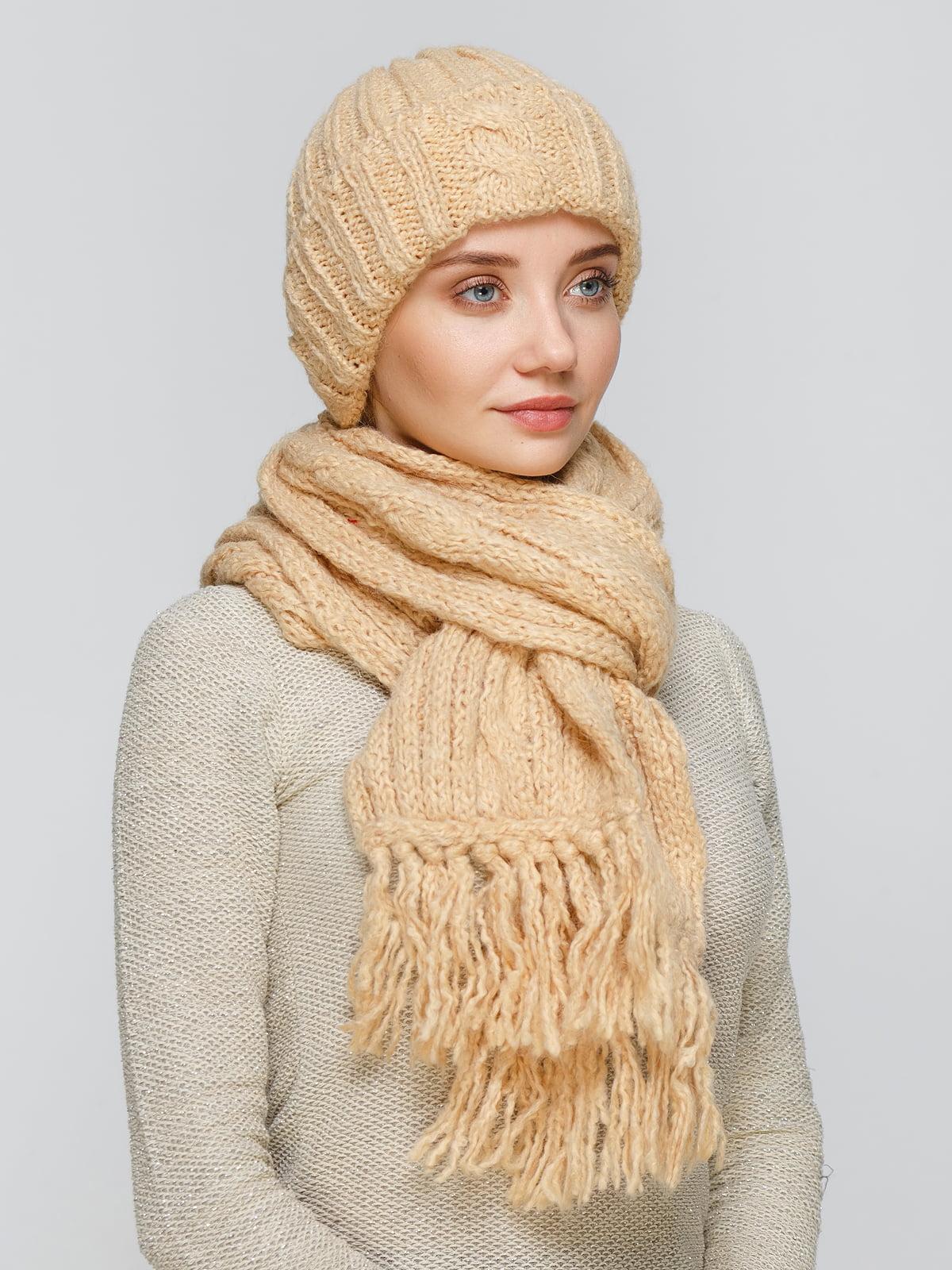 Комплект: шапка та шарф | 5259047