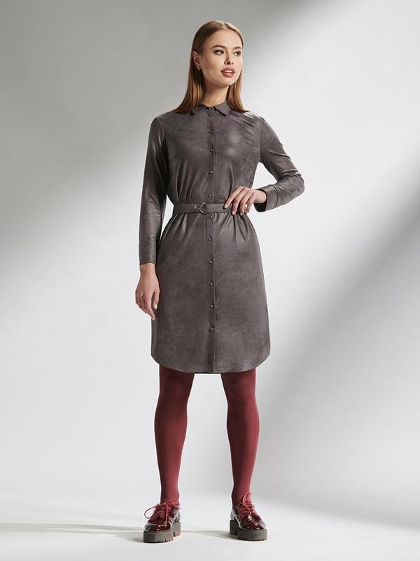 Платье серое | 5115697