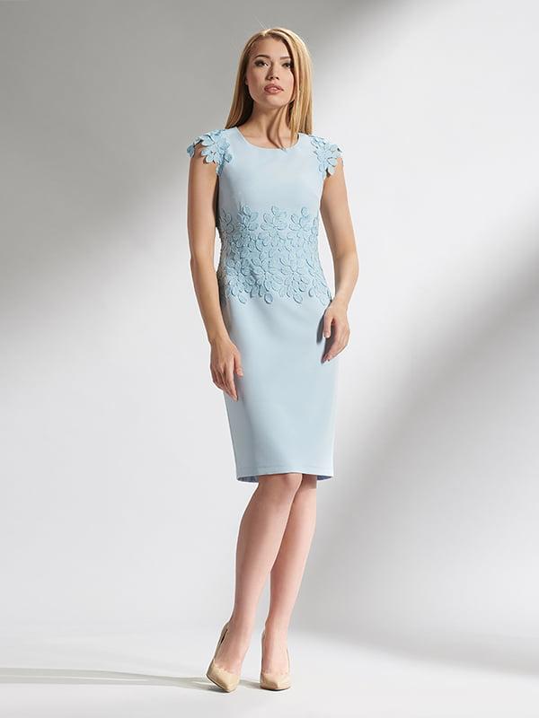 Платье голубое | 5115704