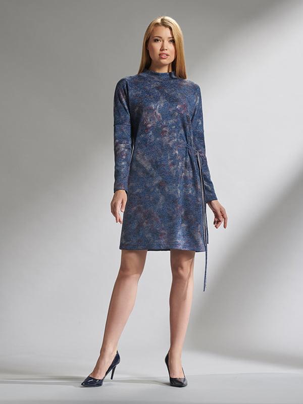 Платье синее | 5282472