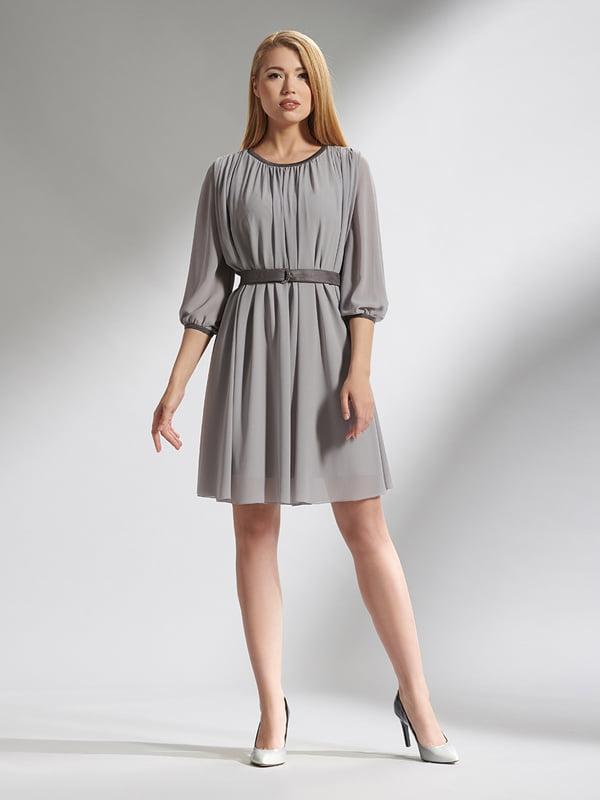 Платье серое | 5282475