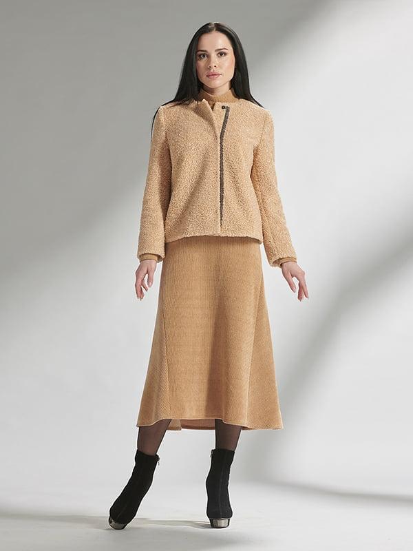 Куртка бежевая | 5282479