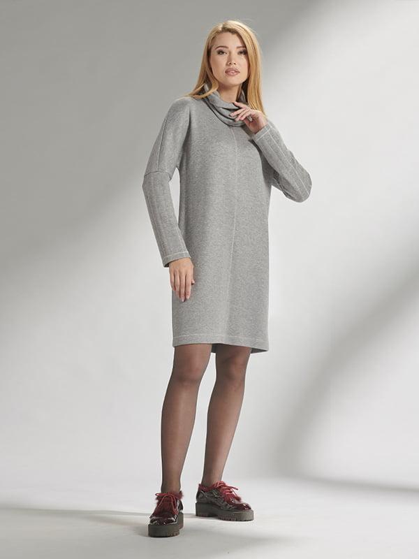 Платье серое | 5282489