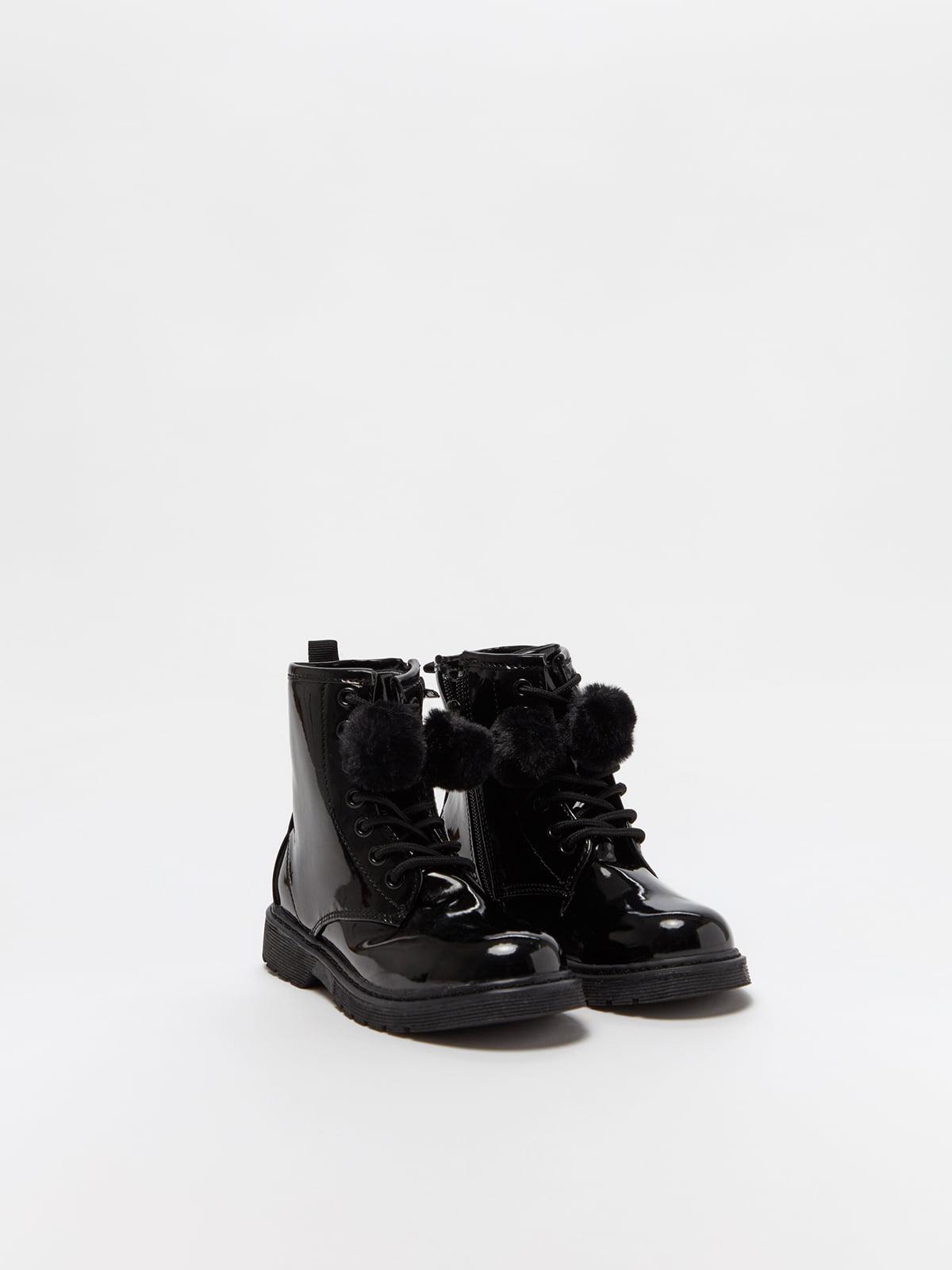Ботинки черные | 5229839
