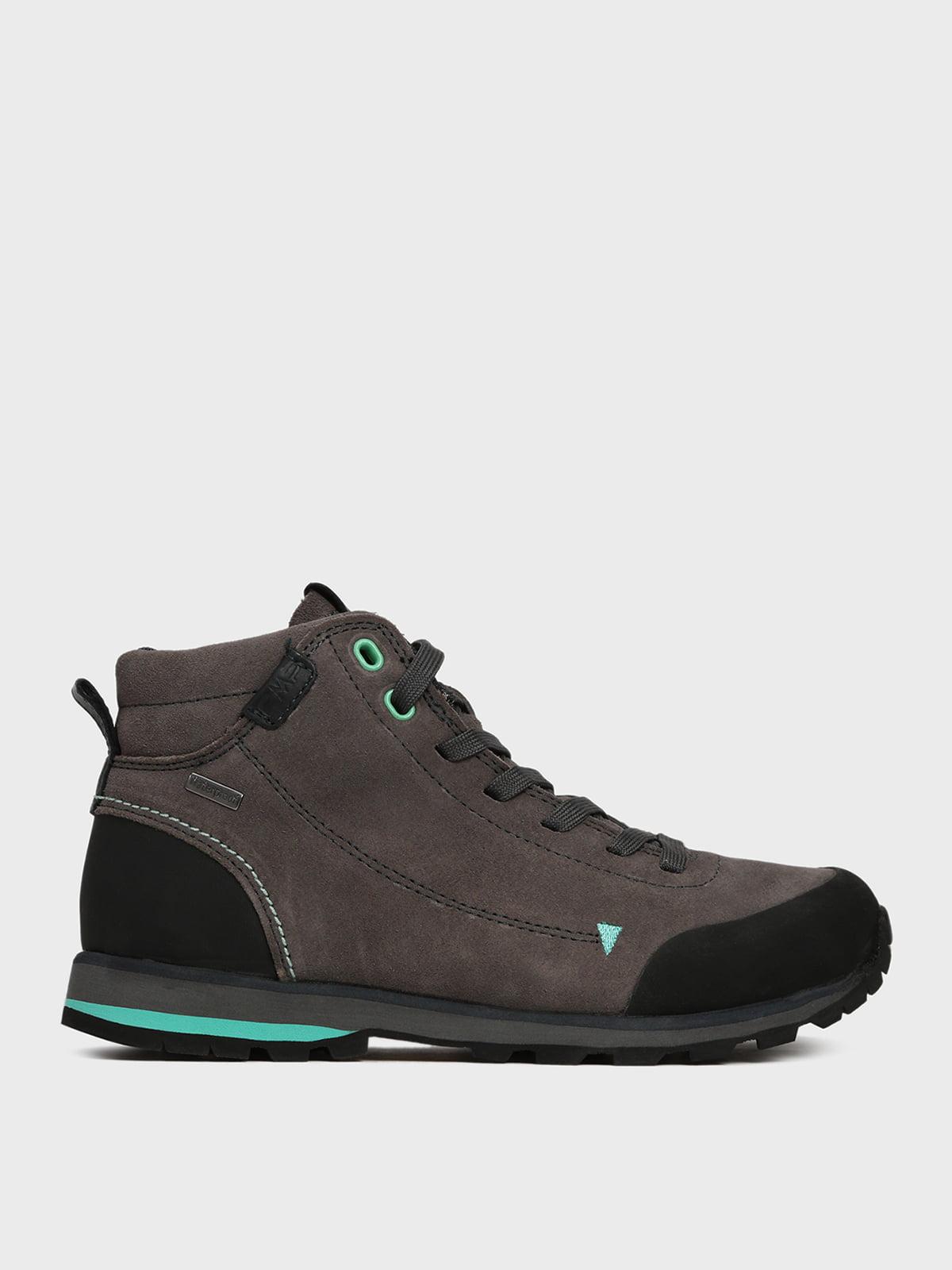 Ботинки графитового цвета   5259749
