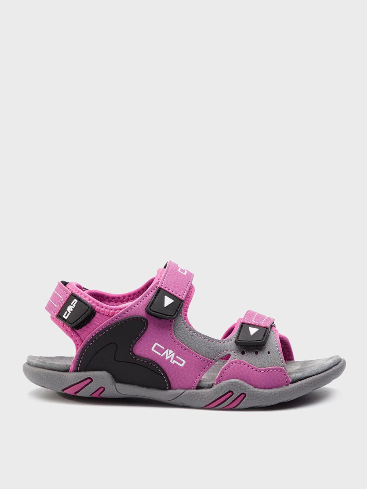 Сандалі сіро-рожеві | 5260102