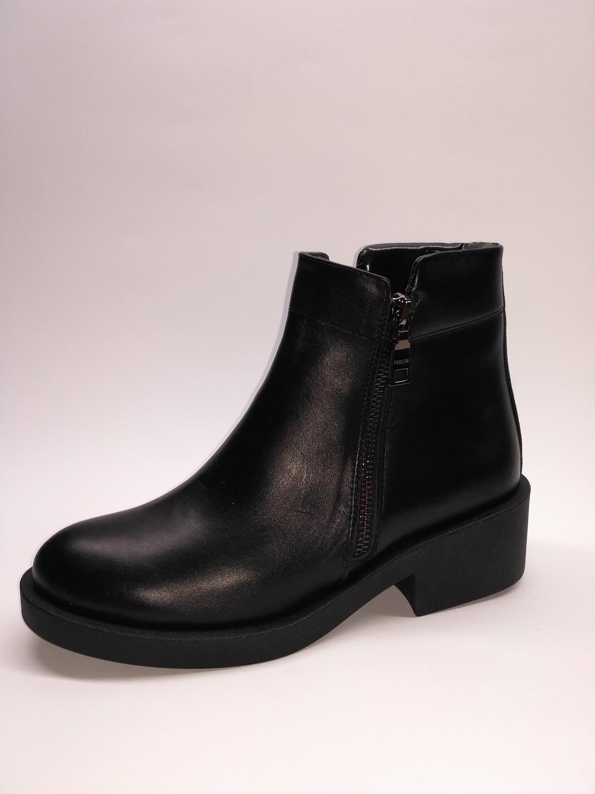 Ботинки черные | 5282668