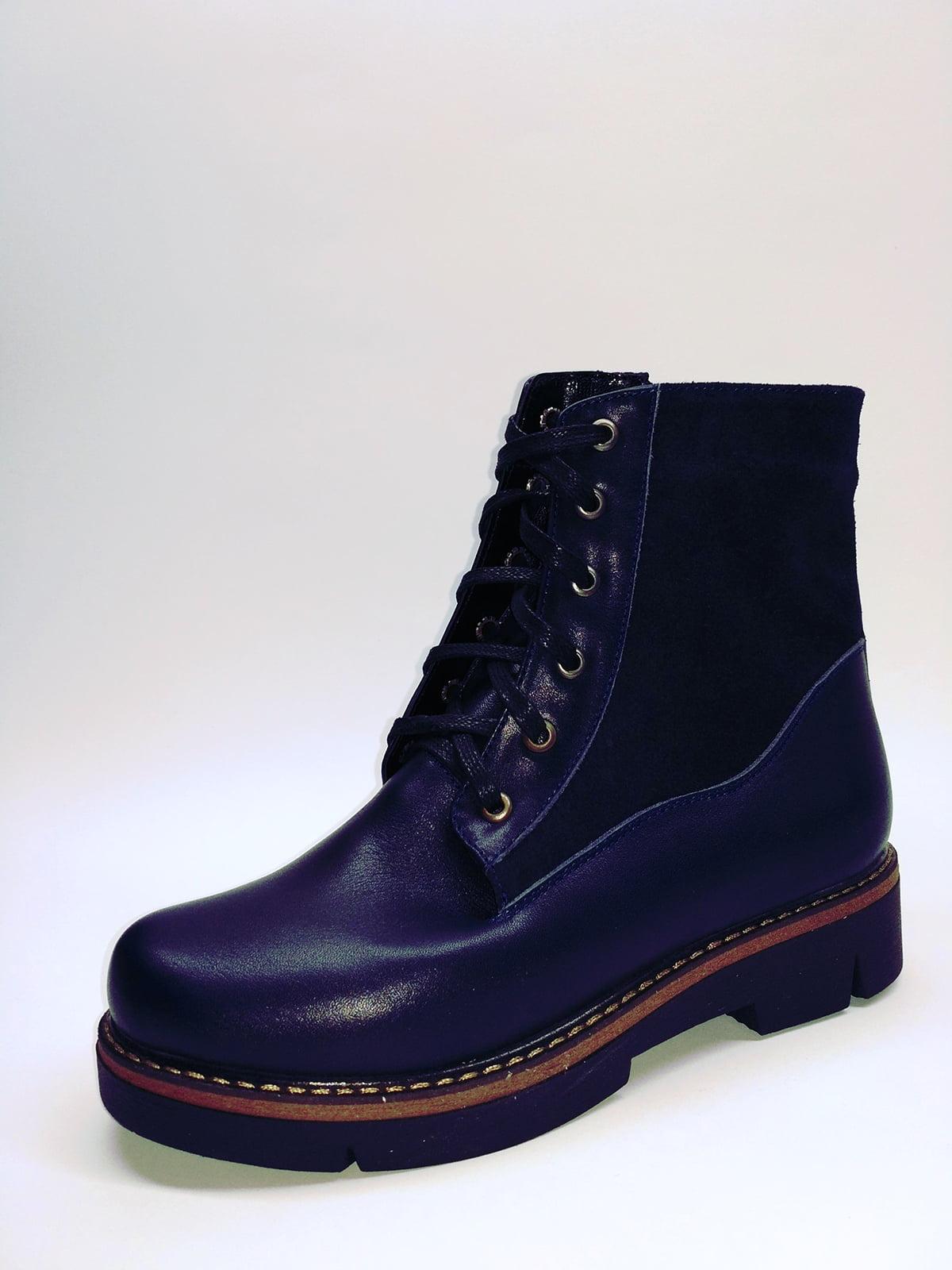 Ботинки синие | 5282678