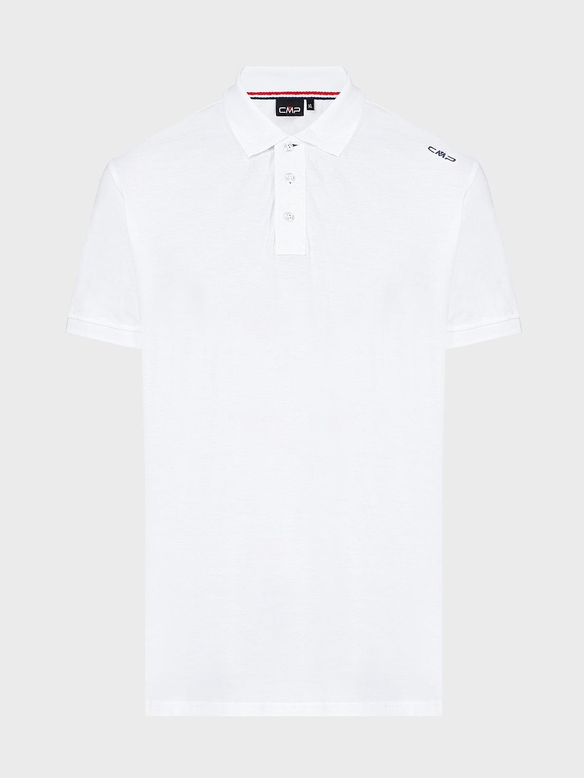 Футболка-поло белая | 5264396
