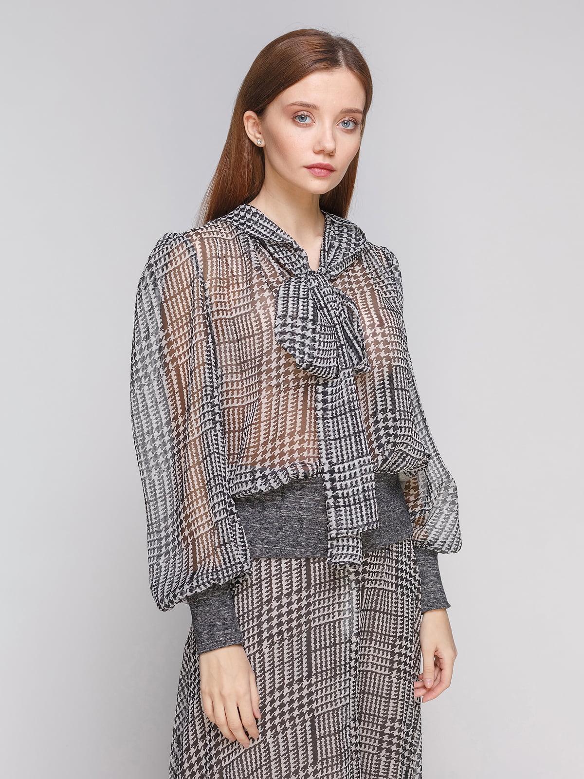 Блуза сіра | 5233252