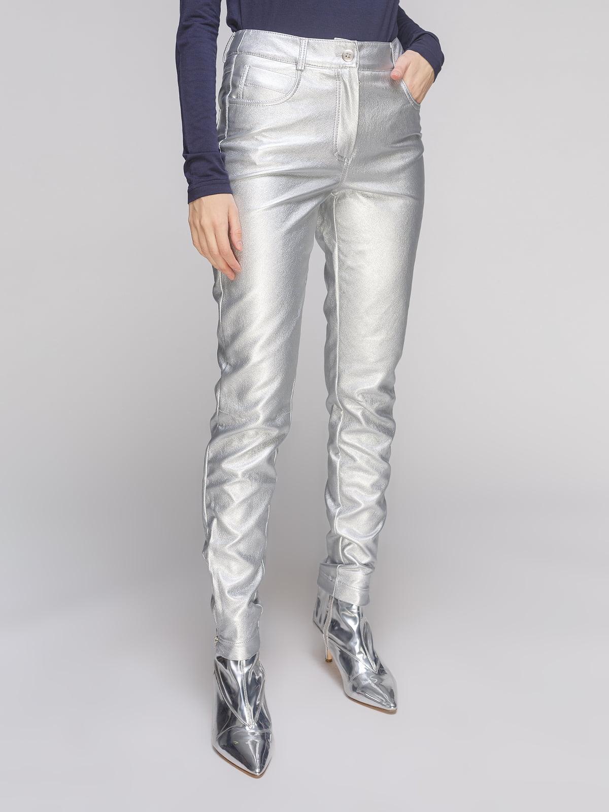 Штани сріблясті | 5261400