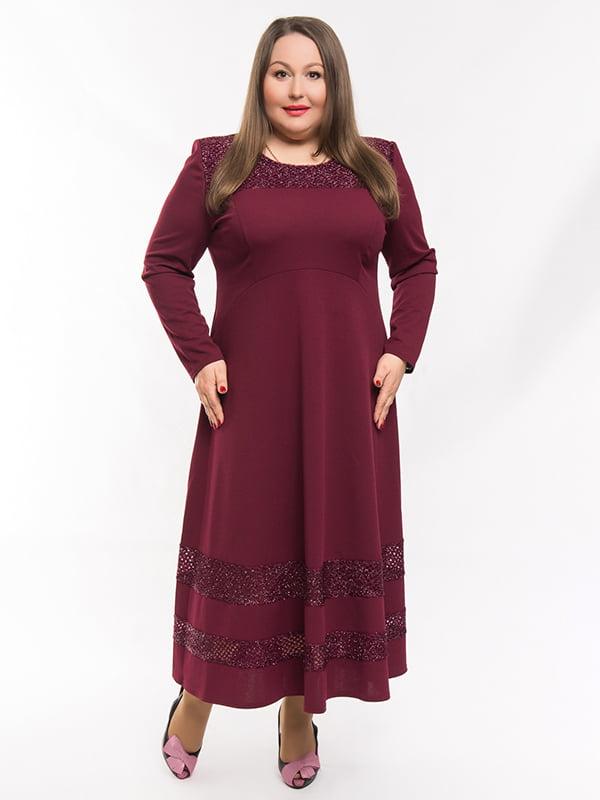 Сукня бордова | 5284494