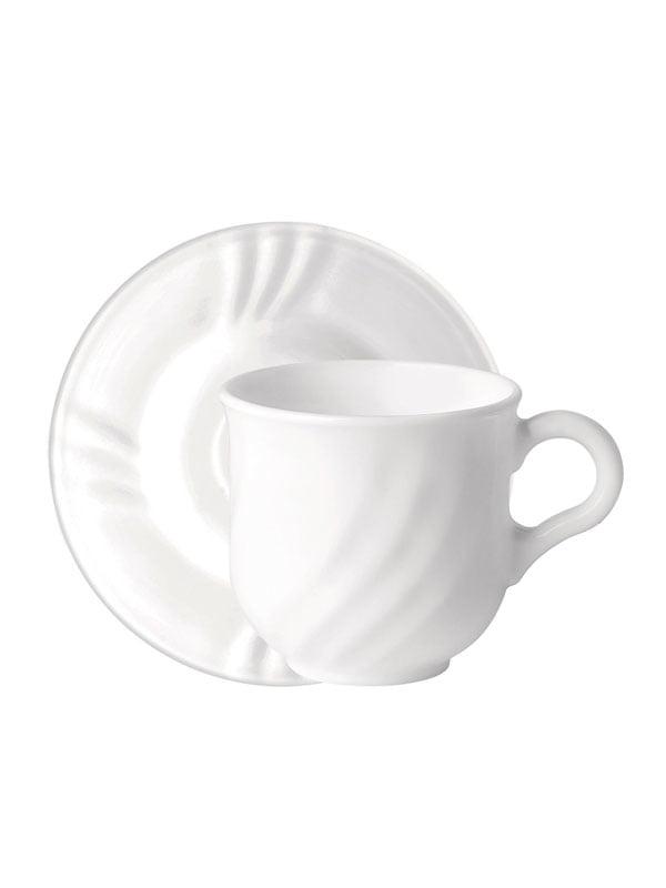 Набір чашок із блюдцями (6 шт.; 160 мл) | 5217367