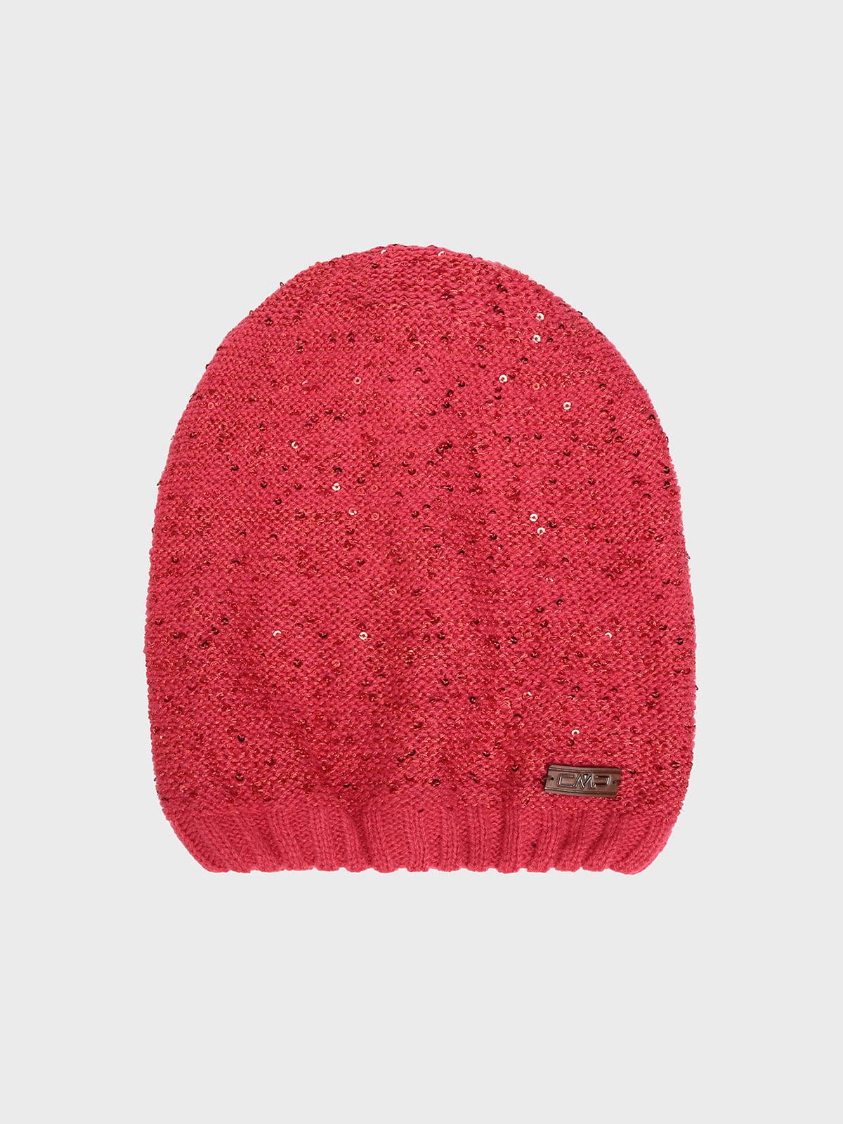 Шапка кораллового цвета | 5260204
