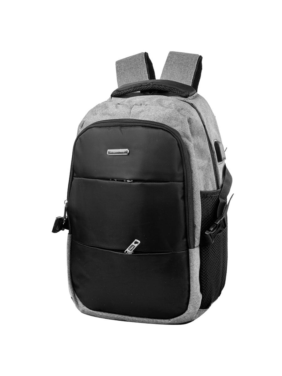 Рюкзак чорно-сірий | 5285187