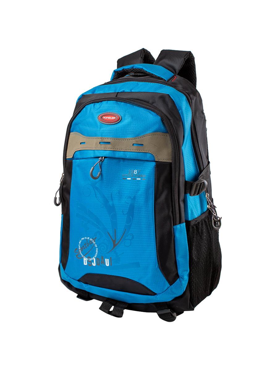 Рюкзак чорно-синій | 5285262