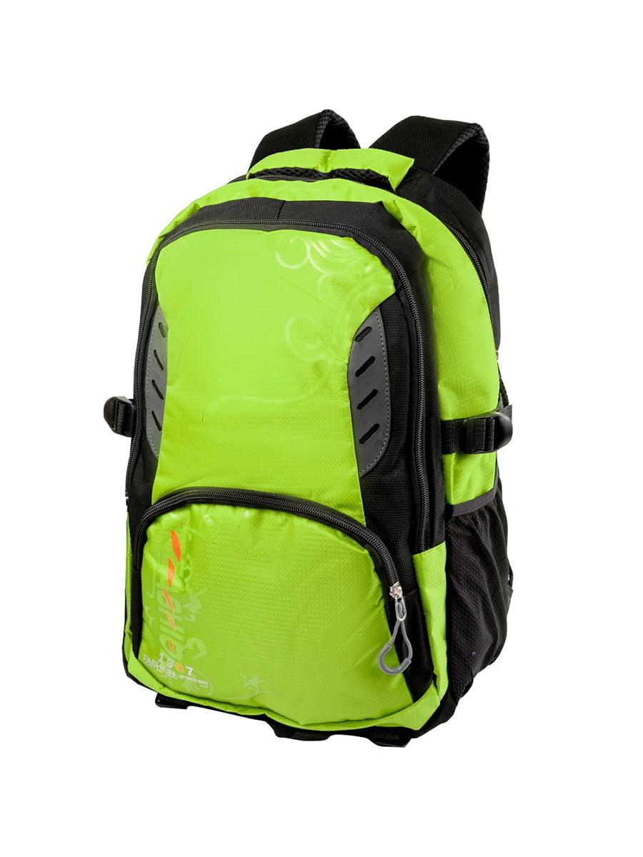 Рюкзак чорно-салатовий | 5285266